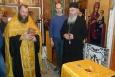 Монахи со Святой Горы Афон привезли в храм исправительной колонии №1 святые мощи