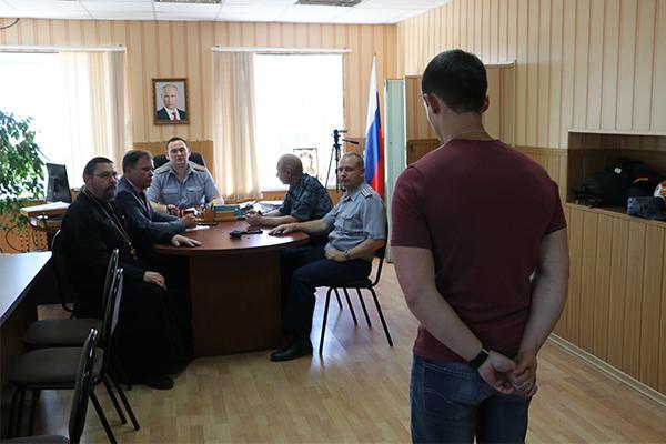 После обхода учреждения представители ОНК приняли участие в заседании административной комиссии.